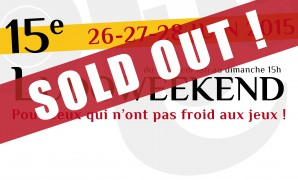 LUDOWEEKEND: SOLD OUT !