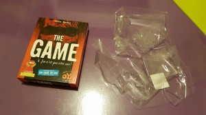 The Game et ses emballages (V.Tacq)